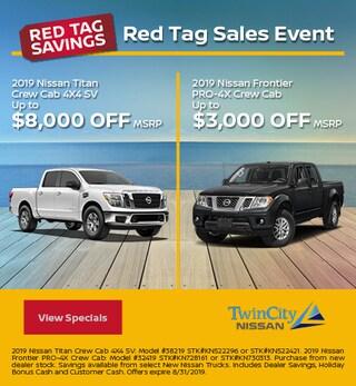 Reg Tag Sales Event