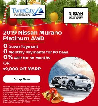 December 2019 Nissan Murano