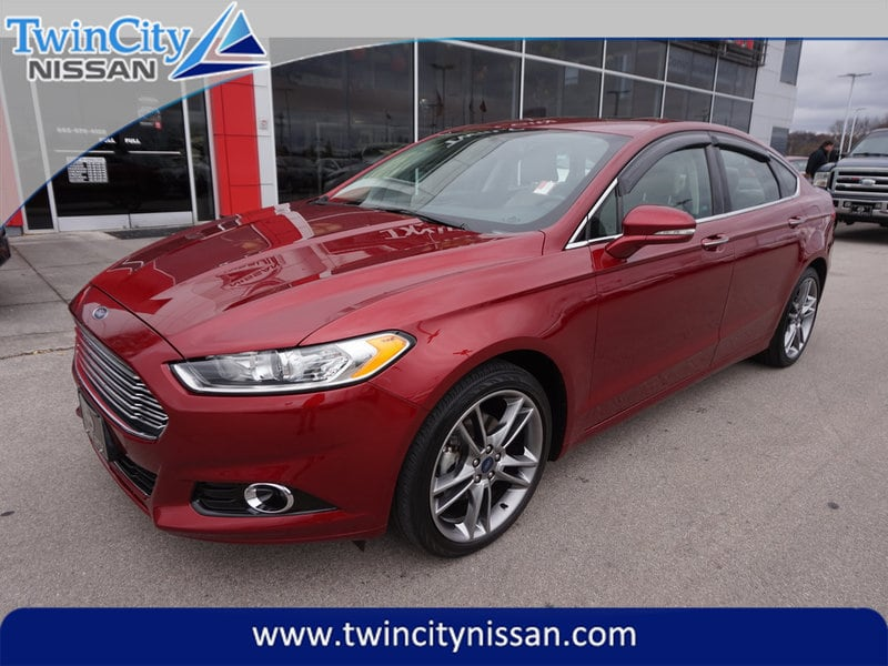2016 Ford Fusion Titanium AWD Sedan