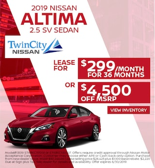 June 2019 Nissan Altima Offer