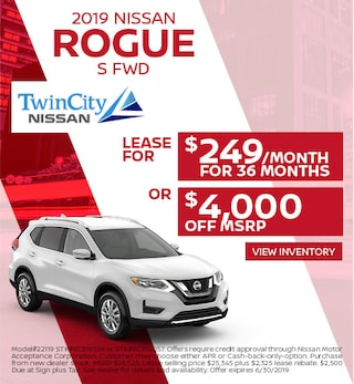 June 2019 Nissan Rogue Offer