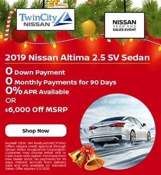 December 2019 Nissan Altima