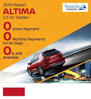 November 2019 Nissan Altima 2.5 SV Sedan