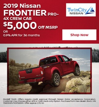 January 2019 Nissan Frontier PRO-4X Crew Cab