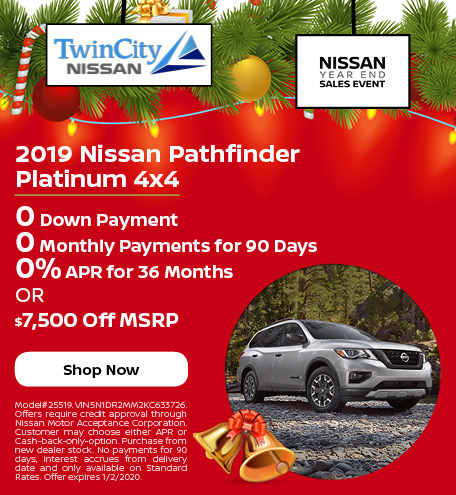 December 2019 Nissan Pathfinder