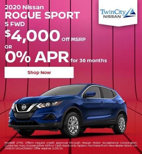 February 2020 Nissan Rogue Sport