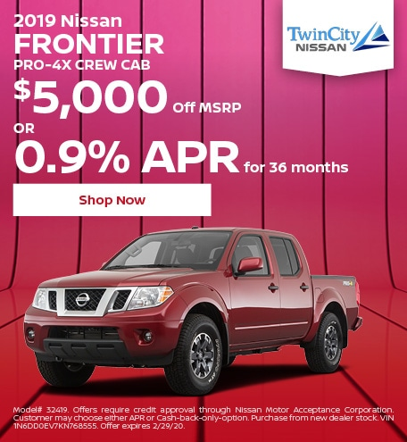 February 2019 Nissan Frontier
