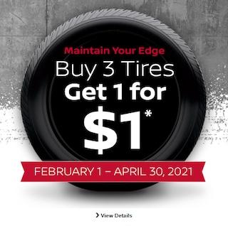 February-April Tire Special