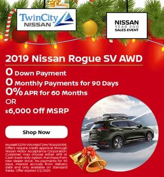 December 2019 Nissan Rogue