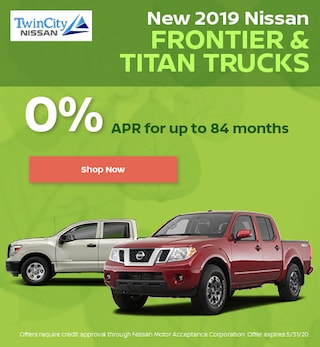 May 2019 Nissan Titan and Frontier Trucks