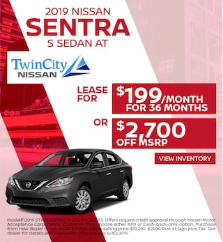 June 2019 Nissan Sentra Offer