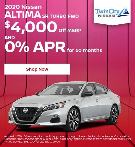 February 2020 Nissan Altima