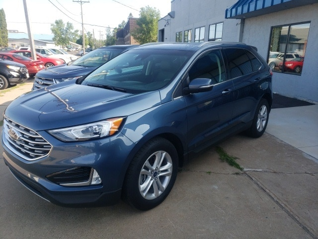Certified 2019 Ford Edge SEL with VIN 2FMPK4J94KBB80173 for sale in Aitkin, Minnesota
