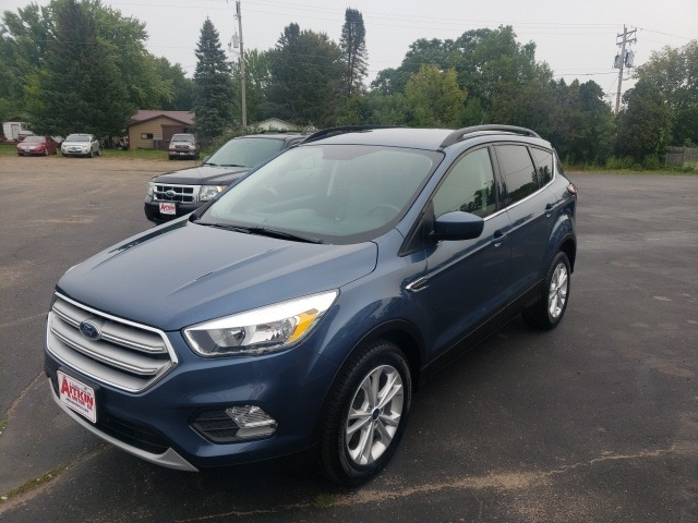 Used 2018 Ford Escape SE with VIN 1FMCU0GD5JUB25513 for sale in Aitkin, Minnesota