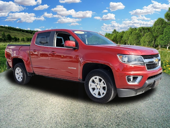 Certified Pre-Owned 2016 Chevrolet Colorado 4WD Crew CAB 128.3 Truck Crew Cab For Sale Wauchula, Florida