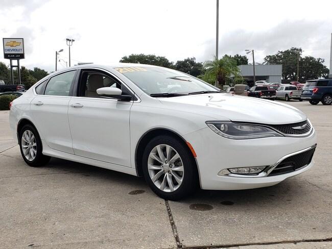 Used 2015 Chrysler 200 4DR SDN C FWD Sedan For Sale Wauchula, FL