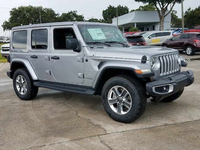 New 2018 Jeep Wrangler UNLIMITED SAHARA 4X4 Sport Utility For Sale Wauchula, Florida
