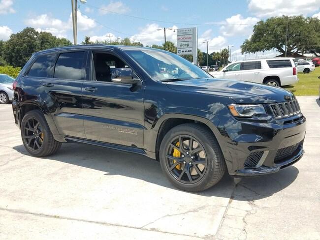 New 2018 Jeep Grand Cherokee TRACKHAWK 4X4 Sport Utility For Sale Wauchula, Florida
