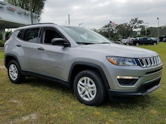 New 2018 Jeep Compass SPORT FWD Sport Utility 3C4NJCAB0JT133740 For Sale Wauchula, Florida