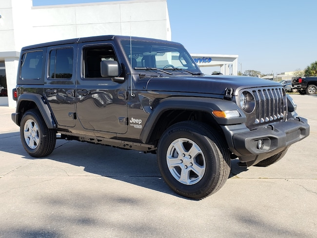 New 2019 Jeep Wrangler UNLIMITED SPORT S 4X4 Sport Utility For Sale Wauchula, Florida