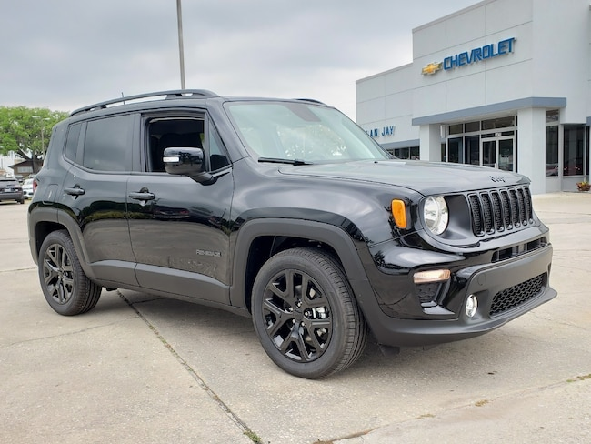 New 2019 Jeep Renegade ALTITUDE FWD Sport Utility For Sale Wauchula, Florida