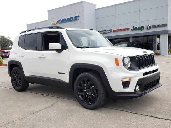 New 2019 Jeep Renegade ALTITUDE FWD Sport Utility For Sale Wauchula, Florida
