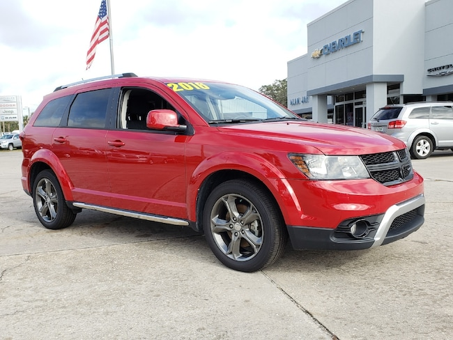 Certified Pre-Owned 2016 Dodge Journey FWD 4DR Crossroad SUV For Sale Wauchula, Florida