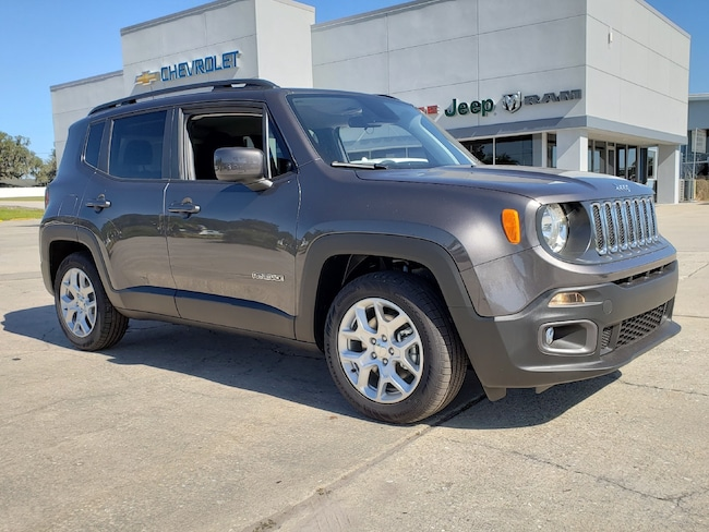 New 2018 Jeep Renegade LATITUDE 4X2 Sport Utility For Sale Wauchula, Florida
