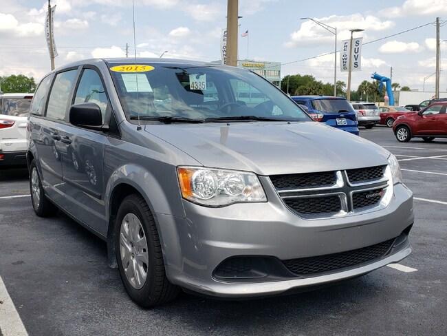 Used 2015 Dodge Grand Caravan AVP/SE Van For Sale Wauchula, FL