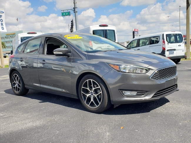 Used 2017 Ford Focus SEL Hatchback For Sale Clewiston, Florida