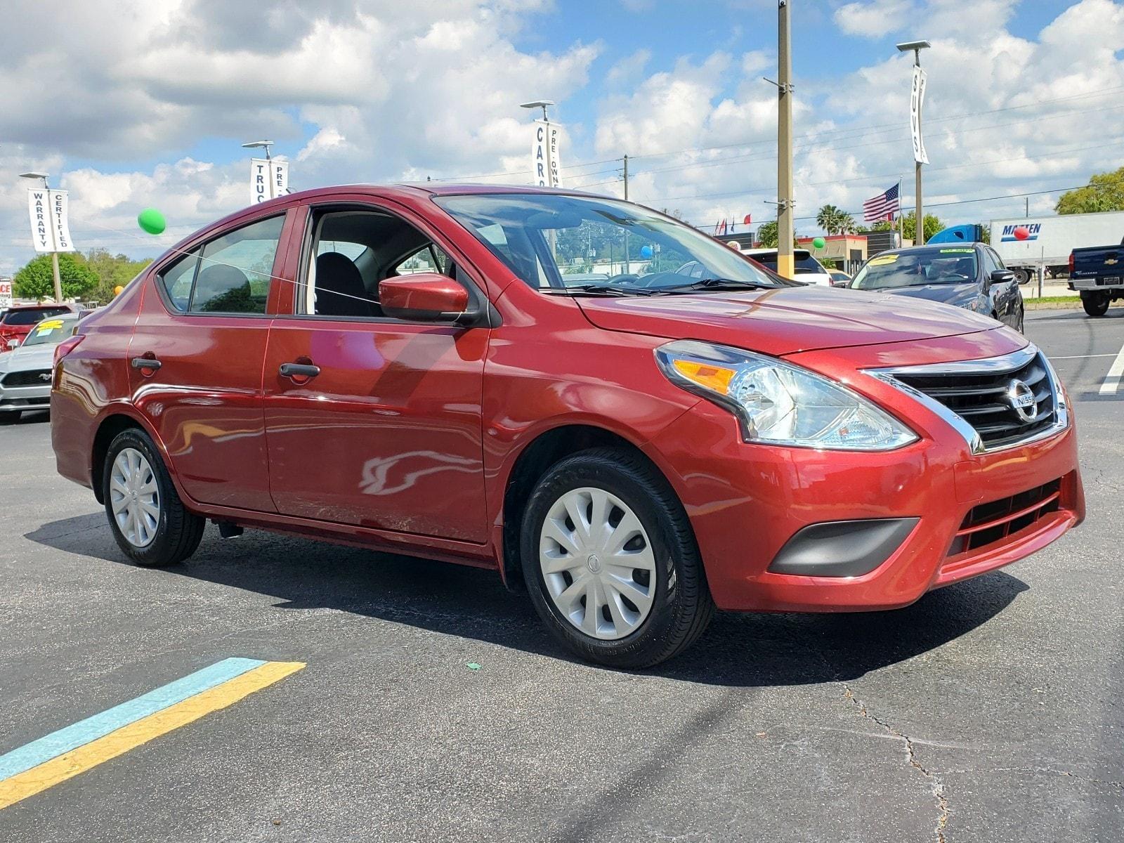 2017 Nissan Versa 1.6 Sedan