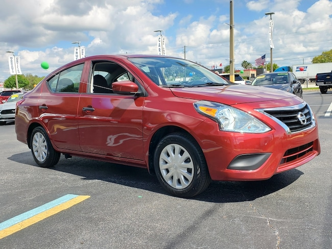 Used 2017 Nissan Versa 1.6 Sedan For Sale Clewiston, Florida