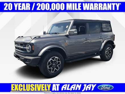 2021 Ford Bronco Outer Banks 4 Door Advanced 4X4 SUV