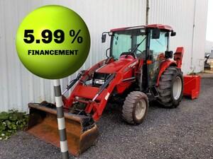 2014 Case IH FARMALL 50B Tracteur loader souffleur .