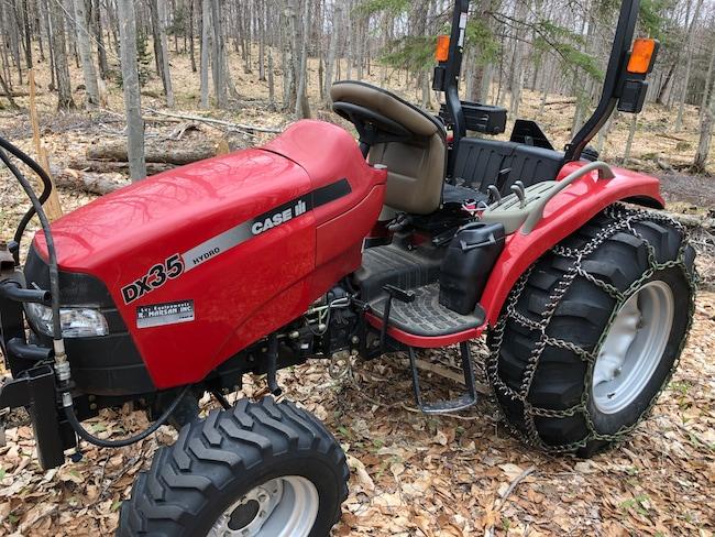 2005 Case IH DX35 Tracteur .