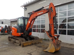 2015 Kubota KX057 4W Pelle excavatrice .