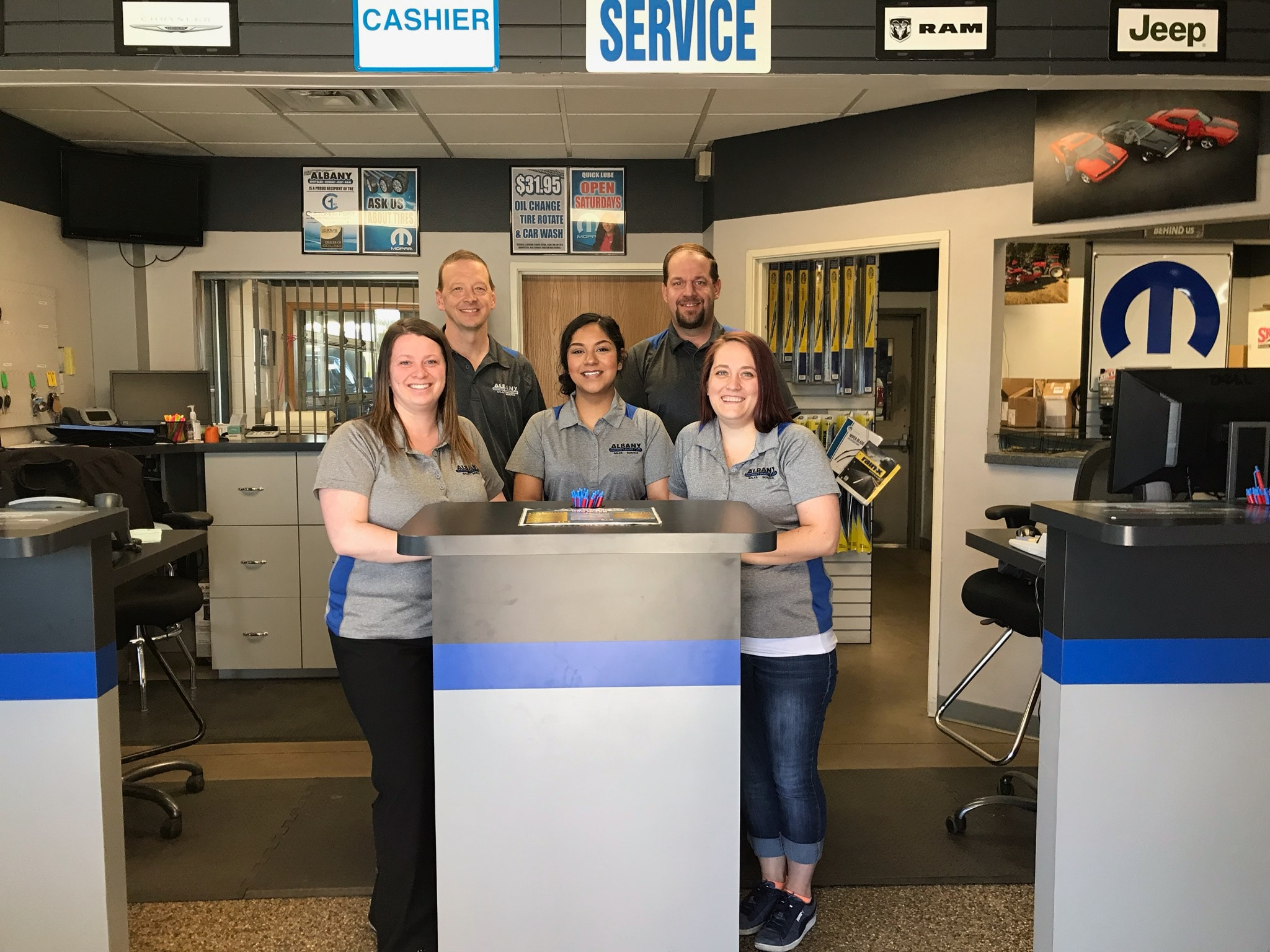 Auto Parts Center in Albany, MN | Albany Chrysler Center, Inc.