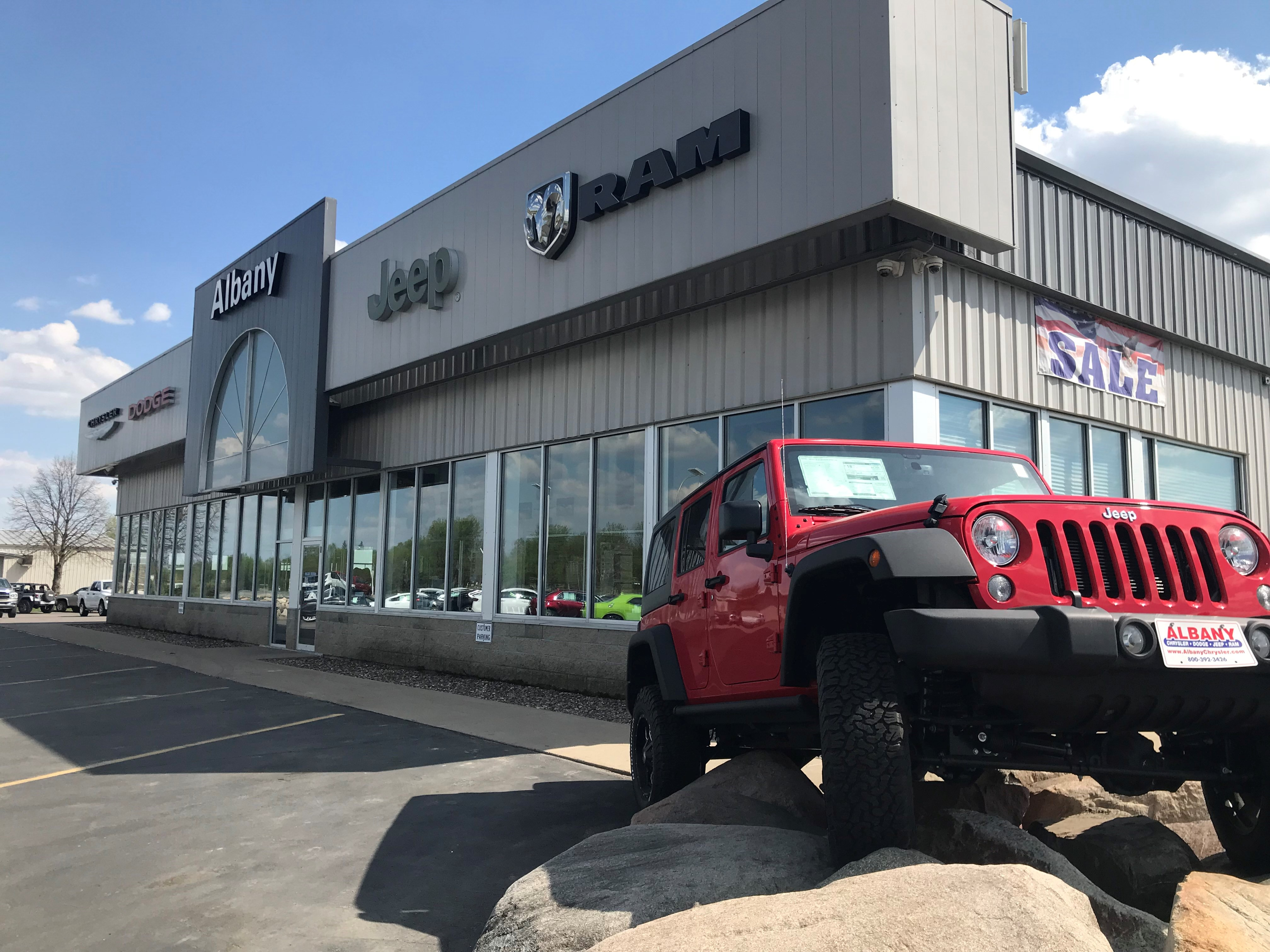 New And Used Chrysler Dodge Jeep Ram Cars For Sale In Albany