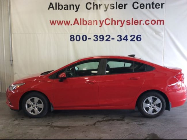 Used  2016 Chevrolet Cruze LS Auto Sedan in Albany, MN