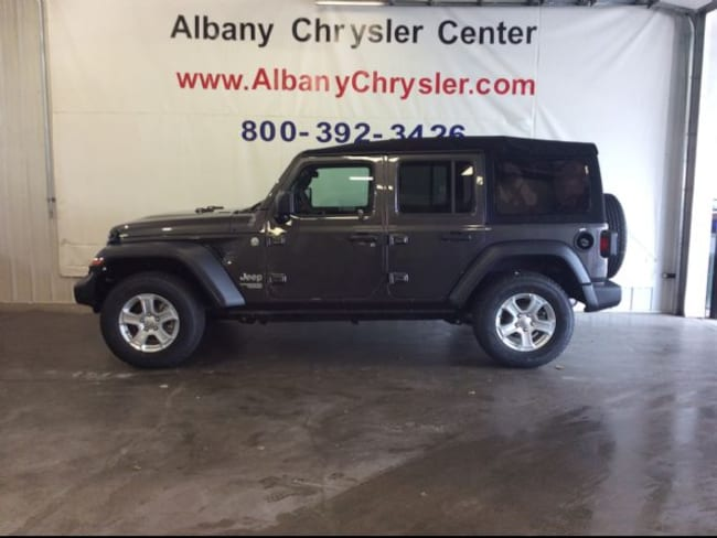 New 2018 Jeep Wrangler UNLIMITED SPORT S 4X4 Sport Utility in Albany, MN