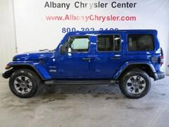 New 2019 Jeep Wrangler UNLIMITED SAHARA 4X4 Sport Utility Albany MN