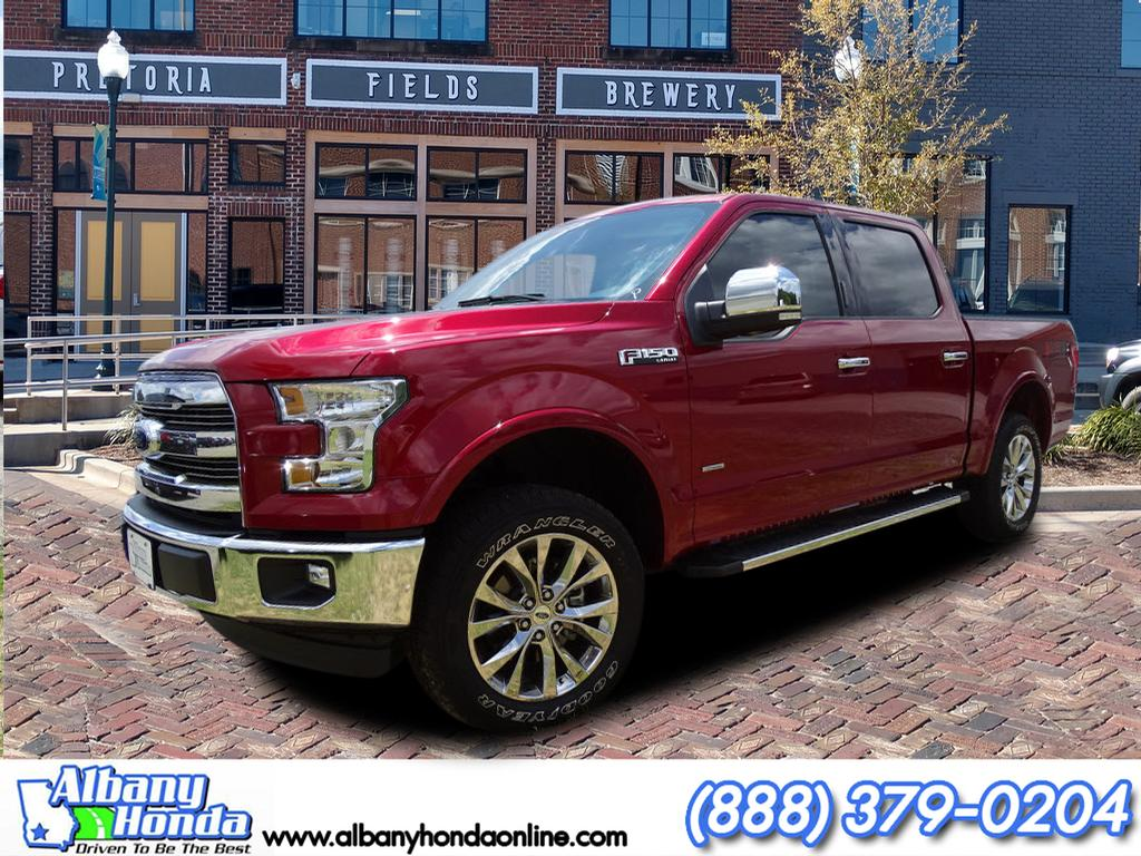 2017 Ford F-150 Lariat Truck SuperCrew Cab
