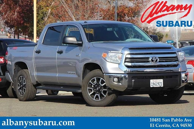 2016 Toyota Tundra TRD 4X4 OFF ROAD PACKAGE Truck CrewMax