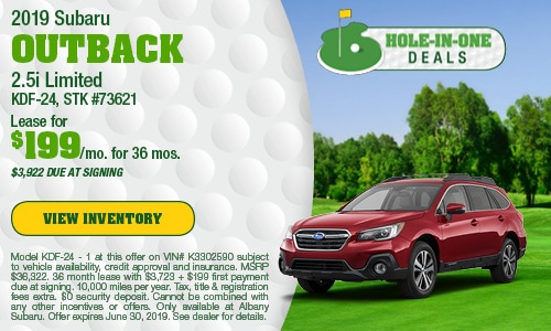 June 2019 Outback Lease Offer