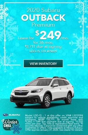 January 2020 Subaru Outback Premium Lease Offer