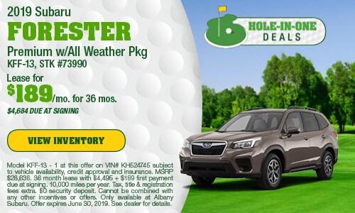 June 2019 Forester Lease Offer