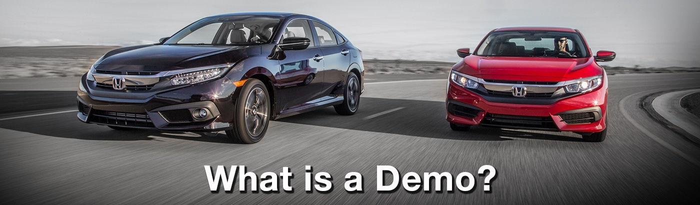 What Is A Demo Alberta Honda