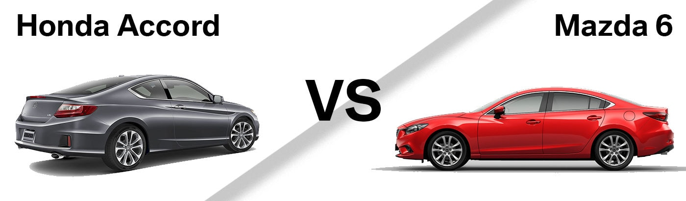 Honda Accord Vs Mazda 6