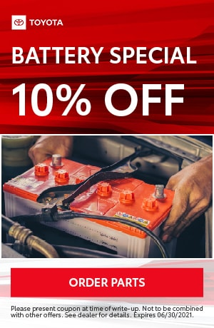 Battery Special 10% OFF