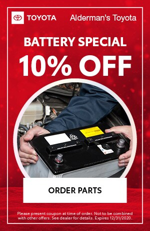 Battery Special - 10% OFF